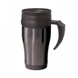 Термокружки OGGI Термокружка Oggi Lustre 400 ml. Stainless Steel Travel Mug with Plastic Black