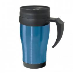 Термокружки OGGI Термокружка Oggi Lustre 400 ml. Stainless Steel Travel Mug with Plastic Blue