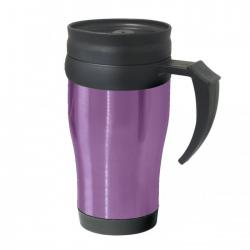 Термокружки OGGI Термокружка Oggi Lustre 400 ml. Stainless Steel Travel Mug with Plastic Purple